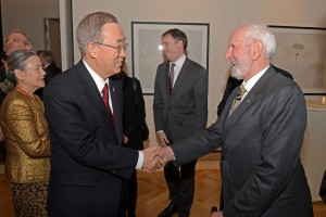 Dinner Speech Ban Ki-moon - Copyright: DGVN 2014